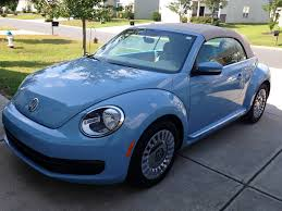 punch buggy car our new luv bug 2013 denim blue vw beetle convertible we love
