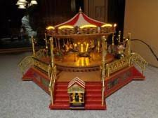 mr gold label marquee merry go carousel lights
