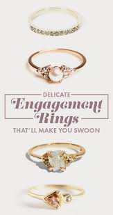 rings that say 28 delicate engagement rings that ll make you say i do