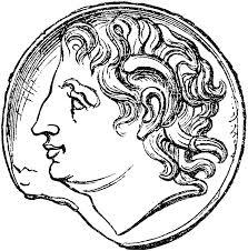 alexander coin clipart etc