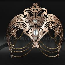 cheap masquerade masks luxury gold gold sliver laser cut venetian masquerade masks