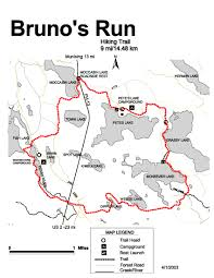 Snowmobile Trail Maps Michigan bruno u0027s run trail michigan trails traillink com