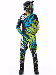 fly motocross goggles fly racing lime black blue 2017 kinetic relapse mx jersey fly