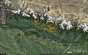Kathmandu Nepal Map by Travelinggeologist