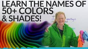 Shades Of Blue Color Names Improve Your Vocabulary 50 Shades Of Colors In English Youtube