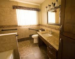 Barrier Free Bathroom Design by Universal Design Bathroom Accessible Barrier Free Aging In Place