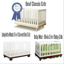 top rated convertible cribs oeuf style top rated two toned morden baby cribs juici chic