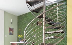circular stairs to studio siena pacific a design sensitive