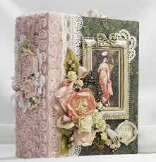 handmade photo albums graphic 45 portrait of a handmade scrapbook mini photo album