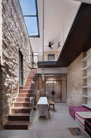 a 250 year old stone house in israel with a surprisingly modern