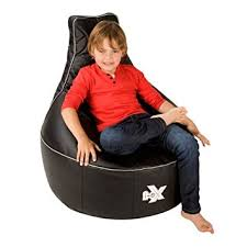 i ex rookie gaming chair faux leather kids gaming bean bag