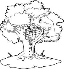 Stunning Decoration Magic Tree House Coloring Pages Funycoloring Hello Tree Coloring Page