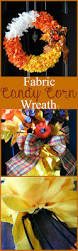 how to make a halloween wreath with mesh ribbon best 25 candy corn wreath ideas on pinterest deco mesh wreaths