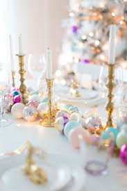 festive christmas tablescape