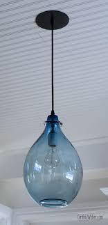 Blue Glass Pendant Light Fabulous Blue Pendant Lights 25 Best Ideas About Glass Pendant