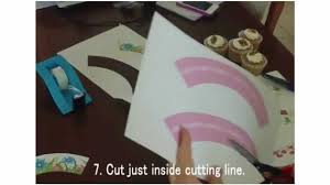 cupcake wrappers how to make cupcake wrappers youtube
