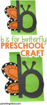 b is for butterfly letter of the week craft parenting chaos