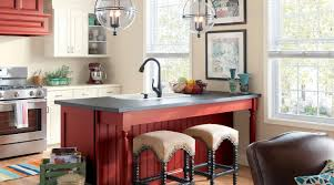 red kitchen islands kitchen ideas rolling kitchen island large kitchen island with