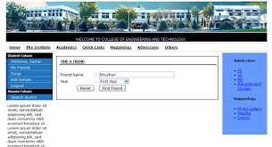 of alumni search alumni association project in jsp servlet techzoo technology