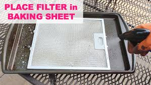 stove top exhaust fan filters grease cleaning for kitchen hoods hometalk