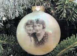 create your own heirloom photo ornament grandmothers ornament