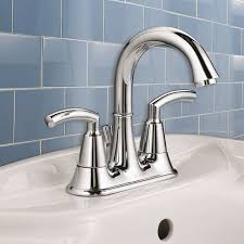 Bathroom Sink Handles Tropic 2 Handle 4 Inch Centerset High Arc Bathroom Faucet