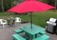 Wind Resistant Patio Umbrella Amazing Powerreviews Outdoor Belham Living Steel Square Umbrella