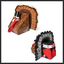 thanksgiving toys papercraft turkey and american free paper toys