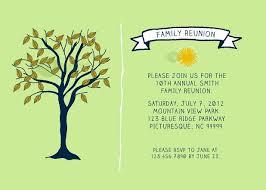 family reunion invitations templates family reunion pinterest