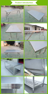 Kitchen Work Table by Stainless Steel Workbench Kitchen Food Preparation Table Buy