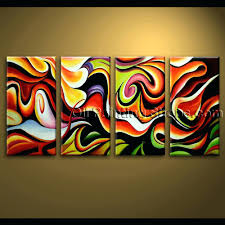 wall ideas extra large wall art abstract painting home