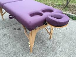 massage table with hole portable massage table with breast holes for women pw 003