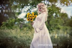 maternity photo props hot sale 2pcs maternity photography props chiffon knit white