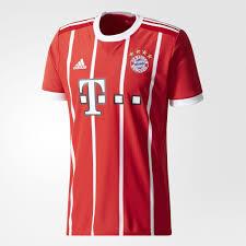 bayern munich 2017 18 adidas home kit 17 18 kits football