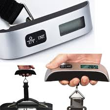 travel scale images Portable suitcase luggage weighing scales 50kg hanging electronic jpg