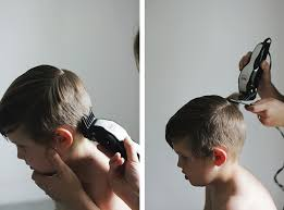 diy boy haircuts how to modern boy s haircut the merrythought