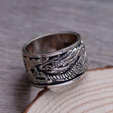 vintage rings aliexpress images Romeil 925 sterling silver rings vintage thai silver dragon luck jpg