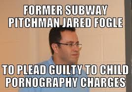 Jared Meme - jared fogle child porn memenews