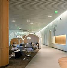 10 spectacular airport lounges around the globe impress with their