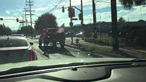 Giant Confederate Flag Suspected Spotted Driving Around Los Angeles With A