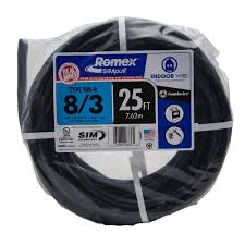 Southwire In Wall Digital 7 by Southwire 125 Ft 8 2 Stranded Romex Simpull Cu Nm B W G Wire