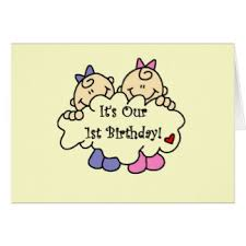 twins first birthday gifts on zazzle