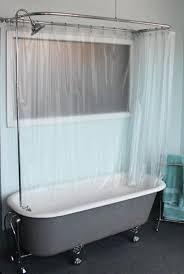 Shower Curtain Track Hooks Bathtub Shower Curtain U2013 Icsdri Org