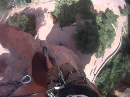 climbing garden of the gods with a go pro helmet cam youtube