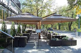 Patio Supplies by Double Offset Patio Umbrellas Hotels And Resorts Supplies And