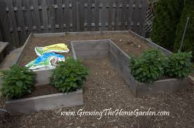 Design A Bed by Garden Plans And Ideas A U0027u U0027 Shaped Raised Bed Garden Layout