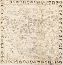 Stars Hollow Map An Illustrated Map Of Stars U0027 Homes From The Golden Age Of