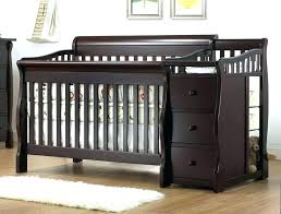 mini crib and changing table espresso mini crib mini dresser combo espresso cribs with changing