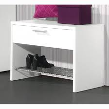 primus modern shoe rack stand in white with drawer 8122