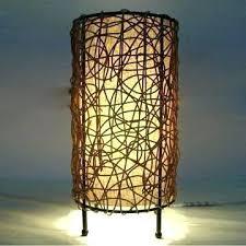 Wicker Table Lamp Table Lamp Rattan Table Light Wicker Lamps Australia Lamp Shade